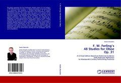 F. W. Ferling's 48 Studies for Oboe, Op. 31