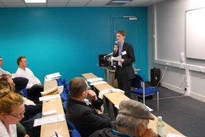 Dr Christopher Wiley at 'Learning at City' Conference