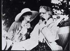 Ethel Smyth and Virginia Woolf (R-L)