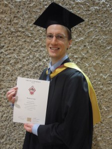 Dr Christopher Wiley: MA in Academic Practice graduation