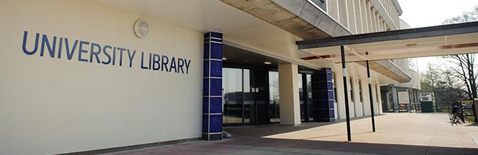 library doors banner