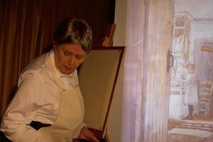 Jacqueline Mulhallen as Sylvia Pankhurst