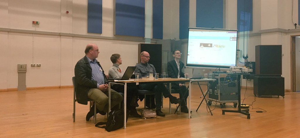 Roundtable - Christopher Wiley, Björn Heile, Katie Beswick, and Ian Pace