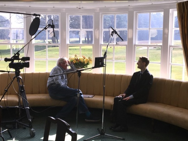 Dr Christopher Wiley at Woking Golf Club