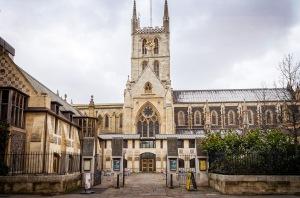 Southwark Cathedral Entrance